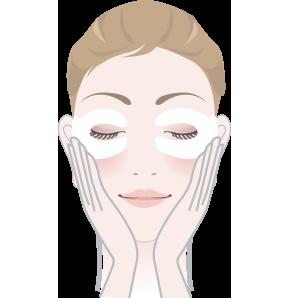 DR's Secret Vitalising Eye Mask Cách sử dụng