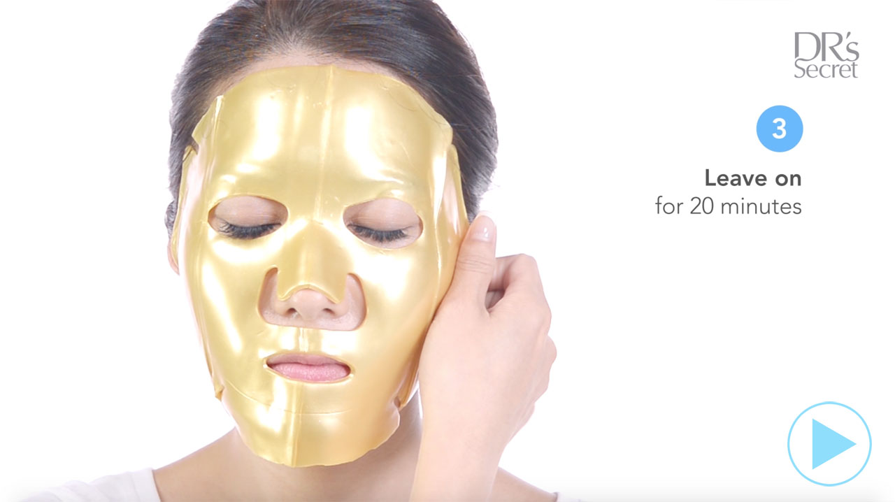 Tutorial: How to use DR's Secret Q10 Clear Mask for a youthful glow