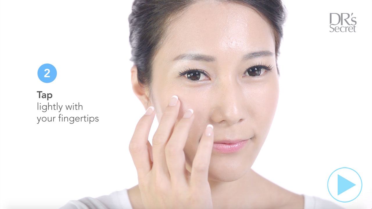 How to use DR's Secret Spot Serum 8 to counter skin blemishes