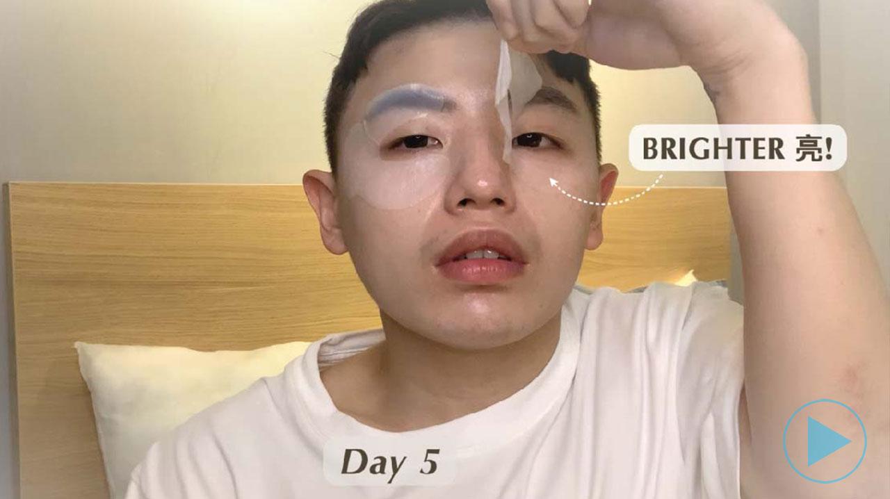 DR's Secret Vitalising Eye Mask Review - Howard